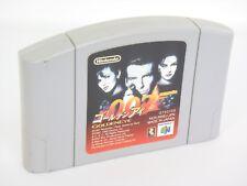 007 GOLDEN EYE james bond Nintendo 64 Cartridge Only Import JAPAN Game n6c *
