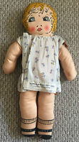 Antique! 1933 CHICAGO WORLD'S FAIR Century Of Progress 2 Sided Little Miss DOLL