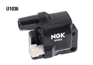 NGK Ignition Coil U1036 fits Ford Courier 2.6 4x4 (PH), 2.6 i (PC), 2.6 i (PD...