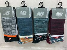 ONE PAIR NEW MENS NEW BALANCE  LIFESTYLE CREW SOCKS  SIZE LARGE MSRP $13.00