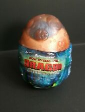 """Movie How to Train Your Dragon Hidden World Baby Gronkle Egg 3"""" Blue Plush"""