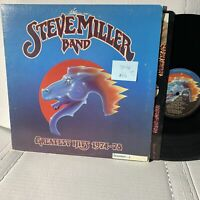 Steve Miller Band Greatest Hits- Capitol SO 11872 F2 Win VG+-/VG+ Record LP