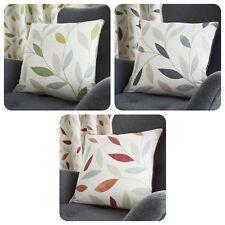 Fusion BEECHWOOD - 100% Cotton Modern Leaf Trail Scatter Cushions Cushion Cover