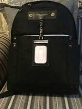 NWT Marc Jacobs Authentic Black Preppy Nylon Backpack M0012907 MSRP $250