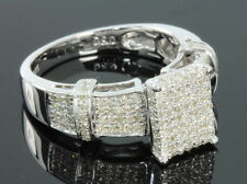 .60 CARAT WOMENS LADIES WHITE GOLD FINISH DIAMOND ENGAGEMENT BRIDAL WEDDING RING