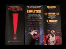 MOULIN ROUGE Broadway 2019 Revival Musical Flyer Leaflet. OBC, Aaron Tveit