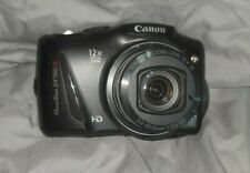 CANON POWERSHOT SX 150 IS   BLACK COLORED  14.1MP VERY NICE W 32GB Card