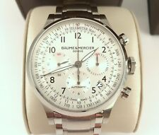 2016 Baume Mercier Capeland Chronograph Automatic Mens Watch Mint Model10061