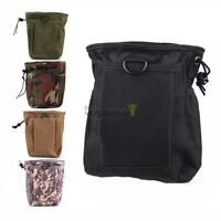 Small Military Tactical Magazine DUMP Pouch Bag for Duty Belt Molle Webbing Vest