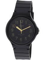 Casio Men's Quartz Black Dial Black Resin Band 44mm Watch MW240-1B2V