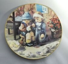 Mj Hummel Tender Loving Care Little Companions Collector Plate 1989