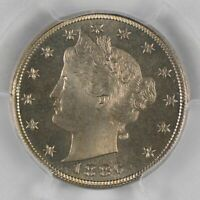 1886 Liberty Nickel PCGS PR66+