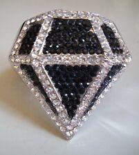 Dressy Diamond Shape Rhinestone Party Wear Lady's Fashion Bracelet