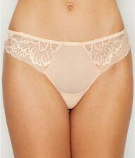 NWOT Simone Perele 12H710 Promesse Tanga Panties, Petal, Size 3 = M (6 - 8)