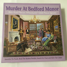 Bits and Pieces - Murder At Bedford Manor 1000 Pc Jigsaw Puzzle - Whodunit? Used