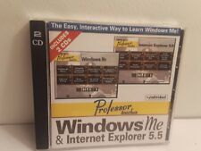 Professor Teaches Windows Me & Internet Explorer 5.5 (2 CD-Roms, 2000)
