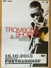 TROMBONE SHORTY 2013 BERLIN - orig.Concert Poster  --  Konzert Plakat  A1 NEU