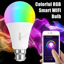 Wireless WiFi Smart Bulb APP Remote Control Light 7W RGB For Alexa Google Home