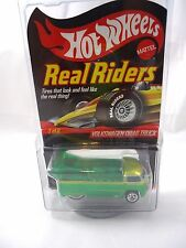 Hot Wheels RLC Real Riders spectraflame green Volkswagen Drag Truck series 9