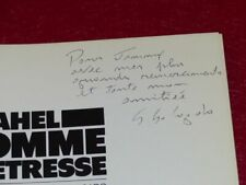 [PHOTOGRAPHIE] JAMES A. FOX (Ag. MAGNUM) SAHEL Signé SEBASTIAO SALGADO EO 1986