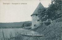 Ansichtskarte Säckingen Rheinpartie m. Gallasturm (Nr.9166)