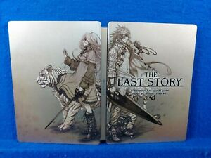 wii THE LAST STORY Steelbook TIN ONLY NO GAME Nintendo