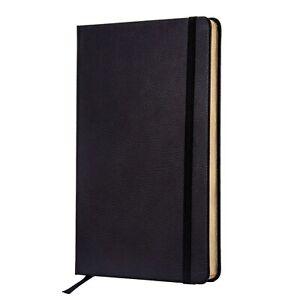 Journal | Notebook - Premium Textured Hardcover - Thick Paper - Black