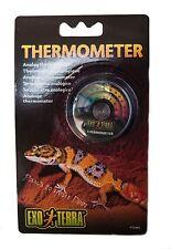 Exo Terra termómetro analógico Dial reptil serpiente lagarto vivarium Terrario
