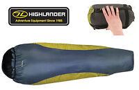 Highlander Travel Ultra Light Mummy Compact Lightweight Voyager Sleeping Bag -