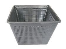 "11"" Square Koi Pond Plant Basket x 3pcs Value Pack For Containing Pond Plants"