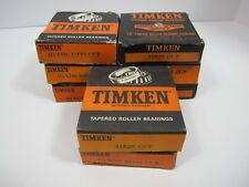 LOT of 8 (Eight) Genuine TIMKEN  31520 Tapered Roller Bearing Cups  Made in USA