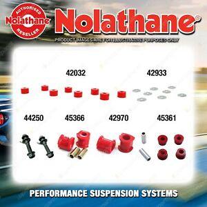 Front Nolathane Suspension Bush Kit for HYUNDAI EXCEL X3 4CYL 9/1994-6/2000