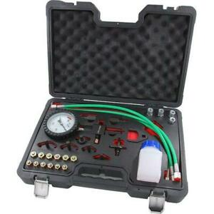 Master Common Rail Diesel High Pressure Tester Kit + Injector Pipe Blanks