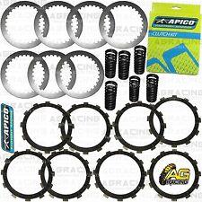 Apico Clutch Kit Steel Friction Plates & Springs For Honda CR 250 1998 Motocross