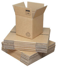 Double Wall Corrugated Cardboard Boxes 205 x 205 x 205mm (8x8x8ins)