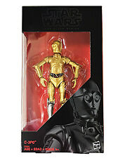 "A Star Wars Story Black Series 6"" Rogue One C-3PO Silver Leg Walgreens Exclusive"