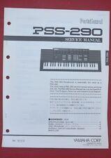 Yamaha PortaSound PSS-290 Service Manual