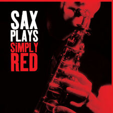 Sax Plays Simply Red CD Saxophone Learning tool - Stunning Sax playing - UK