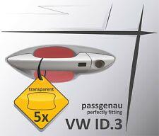 Auto Kfz Türgriff Schutzfolie Griffmulde Griffschale Kratzschutz VW ID.3 trans.