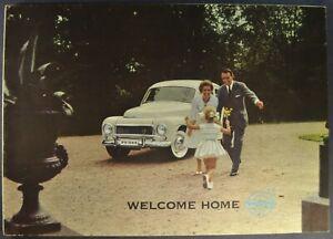 1961 Volvo 544 Sedan Catalog Sales Brochure Excellent Original 61
