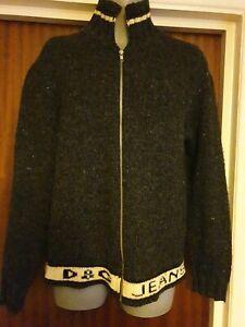 Vintage D&G, Dolce and Gabbana, Grey/Blue, Jacket, Large