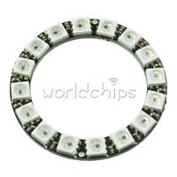 RGB LED Ring 16Bit WS2812 5050 RGB LED + Integrated Drivers 45mm For Arduino