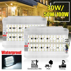 50W 100W LED Flood Spot Light Lamp Bulb Landscape Outdoor Garden Park Yard