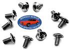 Ford Body Trim Clip Molding Grille Dash Chrome Plated 8-32 Screws 10pcs Vf