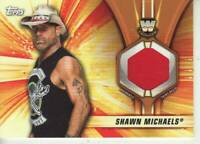 2019 WWE Summerslam Shawn Michaels shirt relic /99