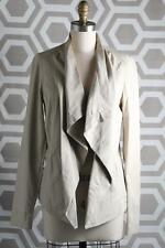 NWT Vince Draped Leather Jacket Large $995 Sandstone Lambskin