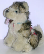 Kipmik Alaskan Malamute Husky Sled Dog Harness Plush Stuffed Animal Toy Gift