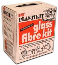 Upol Plastikit - Fibreglass Kit PK/1 - Resin,catalyst,Matting,mixing cup,gloves