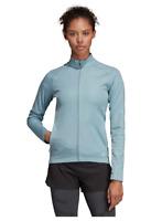 Adidas PHOENIX TRACK JACKET - WOMEN RUNNING SPORTS SWEATSHIRT - BLUE [DQ2658]