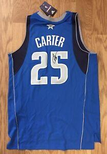 Vince Carter Autographed/Signed Dallas Mavericks (Home Blue) Jersey